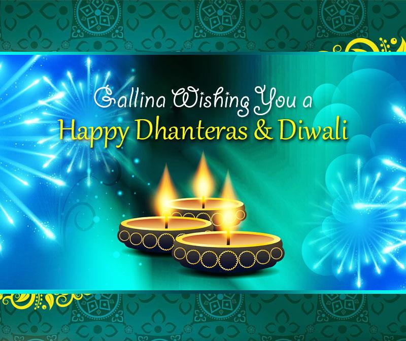 Wish You a Happy Dhanteras and Diwali